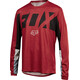 Fox Indicator Drafter Long Sleeve Jersey Men dark red